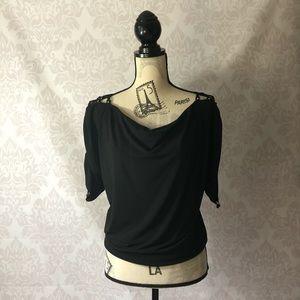 Gorgeous off the shoulder Michael Kors blouse